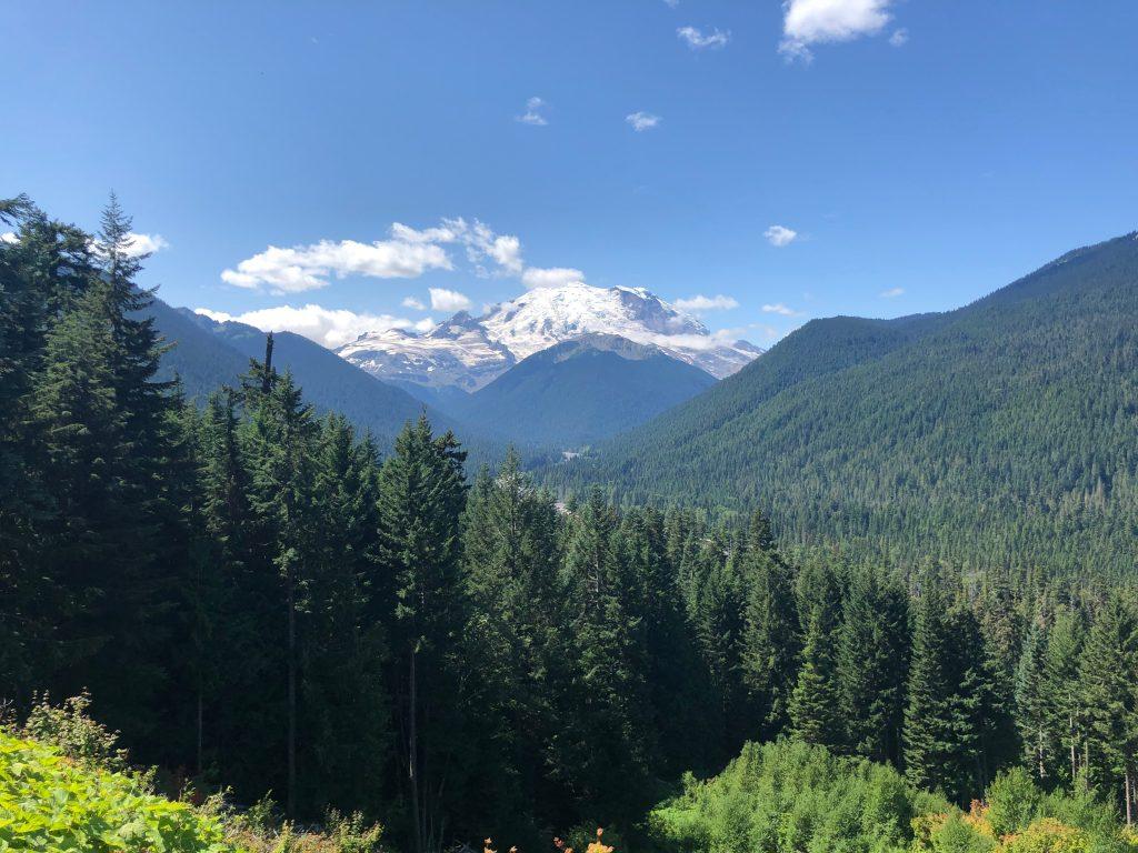 Mount Rainier in Western Washington